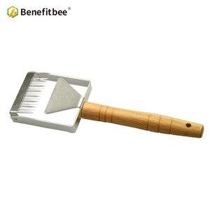 Image 3 - Benefitbee di Marca il Miele Uncapping Raschietto Uncapping Forcella A Nido Dape Honey Raschietti Strumento di Apicoltura Apicoltura Attrezzature