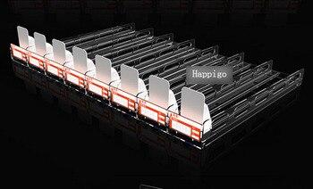 293*60mm PC claro todo en uno estante de tienda supermercado divisor de empuje automático propulsión armario cajón cigarrillo hélice