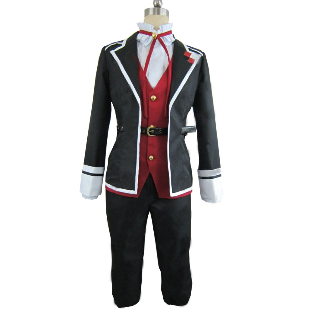 Diabolik Lovers Laito Sakamaki cosplay costume uniform with hat