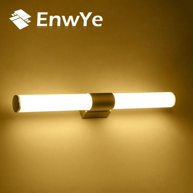 EnwYe Wall lamps bathroom led mirror light Waterproof 16W 22W AC85 ...
