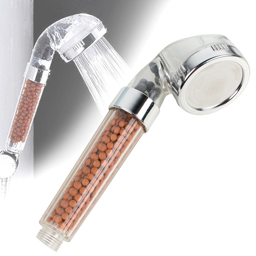 200  Pressure Shower Head 30  Water Saving Ionic Shower Filter Chlorine Filtration