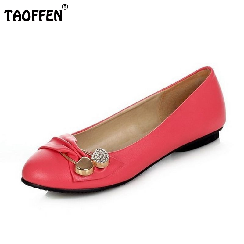 TAOFFEN free shipping flat casual sexy shoes women sexy footwear fashion lady P11882 hot sale EUR size 31-43 free shipping falt shoes women sexy footwear fashion casual shoes p11463 eur size 34 43