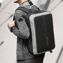 New Anti-thief USB Recharging Men Backpack