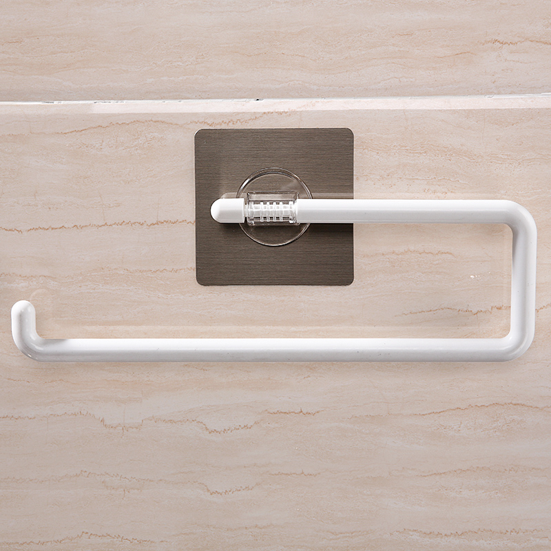 050 Multi functional No mark towel rack paper rack 30 6 9 4 19cm in Towel Bars from Home Garden