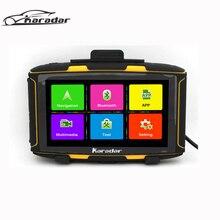 Karadar MT5001 Más Nuevo 5 pulgadas Android Navegación GPS de La Motocicleta MOTO Navegador GPS A Prueba de agua IPX7 con WiFi, Bluetooth, FM