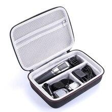 Su geçirmez EVA sert çanta Philips Norelco Multigroom Serisi 3000 5000 7000 MG3750 MG5750/49 MG7750/49 Elektrikli Tıraş Makinesi depolama