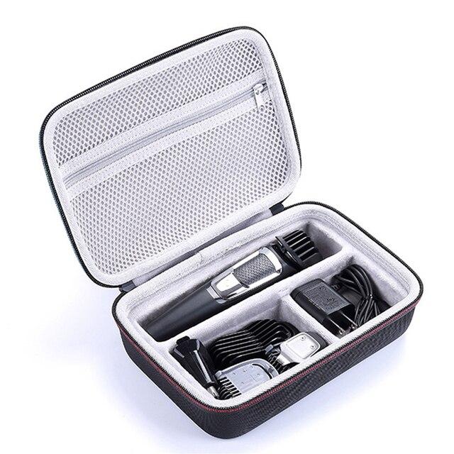 Waterdichte EVA Hard Case voor Philips Norelco Multigroom Serie 3000 5000 7000 MG3750 MG5750/49 MG7750/49 Elektrische scheerapparaat Opslag
