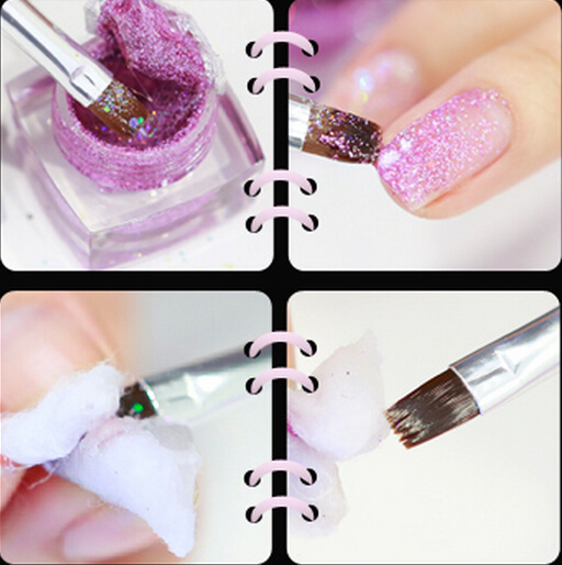 Diy Professional Nail Art Tips Painting Brush Pen Builder Set Kit