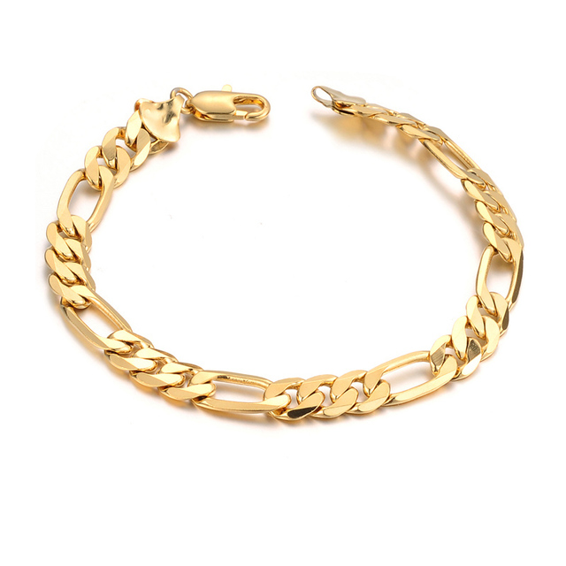 18 karat gold jewelry jewelry KS157 mens personalityin Chain