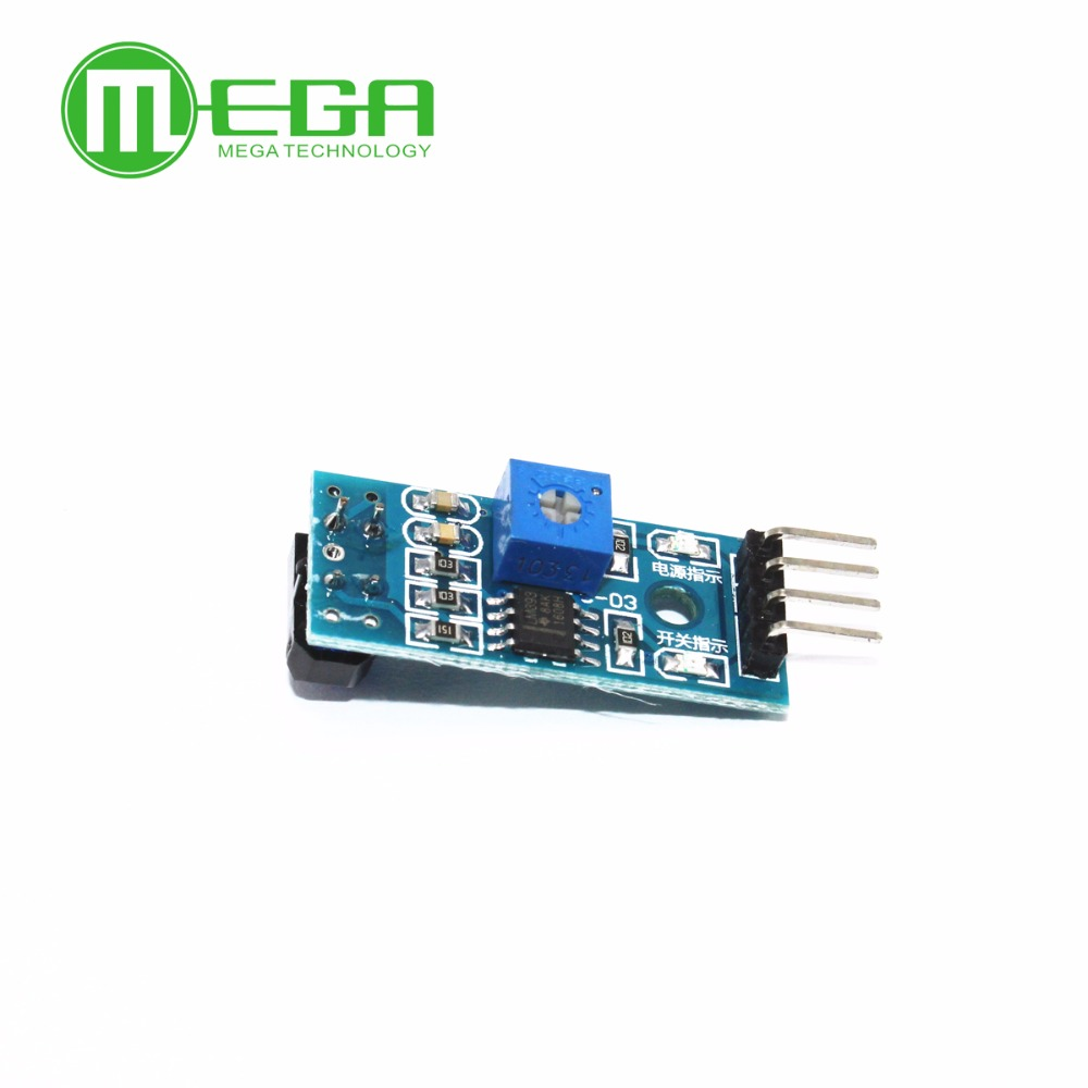 10pcs/lot TCRT5000 Infrared Reflectance Sensor Obstacle Avoidance Module Tracing Sensor Tracing Module