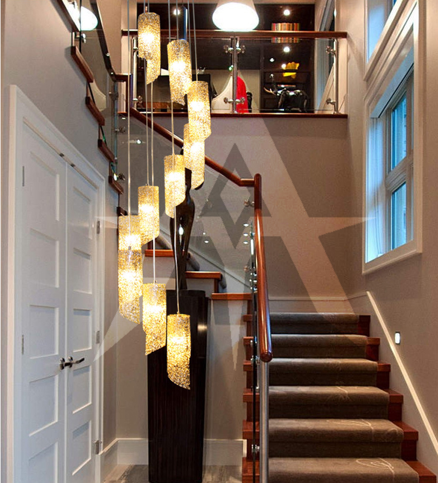 10 Best Of Modern Stairwell Pendant Lighting: Aliexpress.com : Buy Ark Light Modern 10 Heads Aluminum