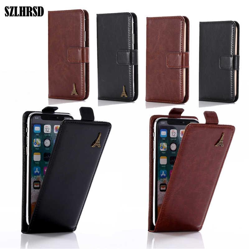 Para Bluboo S3 Funda de cuero Flip cartera protectora de la cubierta de la caja de Bluboo D5 Pro D1 D2 R1 S1 S8 Lite Dual/ x550/borde/Picasso/Bluboo Mini