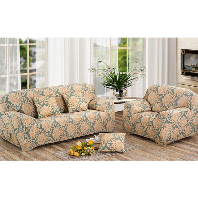 Best Selling Printing Sofa Cover Full Slipcover Stretchy Seat Couch ...