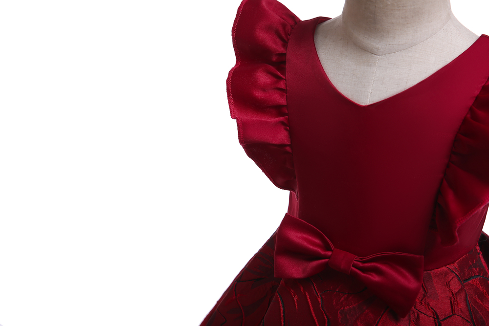 Floral Girl Dresses 2019 Summer Princess Costumes Wedding Child Clothing Ruffles Kids Dress For Girls Formal Prom Gowns 10 Years (5)