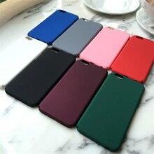 Rosa caso de luxo para iphone 6 azul de plástico rígido de volta caso capa para iphone 6 6 s plus preto 5 5S se telefone caso livre grátis