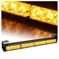 09006 video 18 7 flashing mode emergency warning traffic advisor vehicle strobe led light bar amber.jpg 250x250