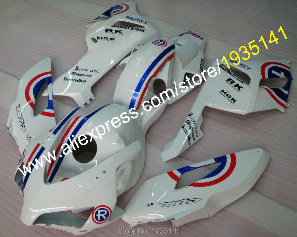 Hot Sales,NGK fairing For Honda CBR 1000 RR 04 05 RK CBR1000RR 2004 2005 GAS Repsol motorcycle fairing kit (Injection molding) ngk br8hs