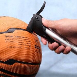 Image 5 - Youpin Mini bisiklet pompası 6Bar ile araç içi telefon tutucu topu oyuncak antioksidan 73PSI basınç katlanır alaşım taşınabilir araba pompası