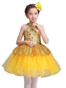 Image 2 - Balletto Vestito Dal Tutu Delle Ragazze Ginnastica Body Balletto Dancewear Vestiti Dei Bambini Ballerina Sconto Costume di Balletto Tutu