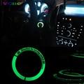 Nuevo Estilo de Moda Luminoso Cubierta del Interruptor de Encendido para VW Golf Polo Passat Eos jetta Audi A3 A4 TT TTS Accesorios Interiores Del Coche