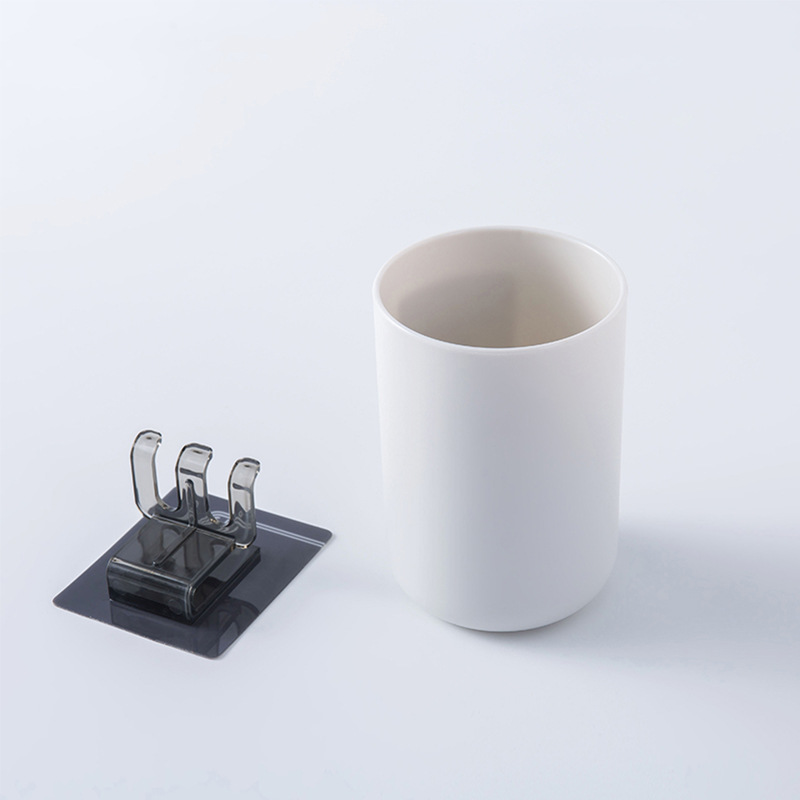 toothbrush holder brush holder toothbrush cup teeth brush holder bathroom accessories toothbrush cup set elegant color mouth cup in Toothbrush Toothpaste Holders from Home Garden