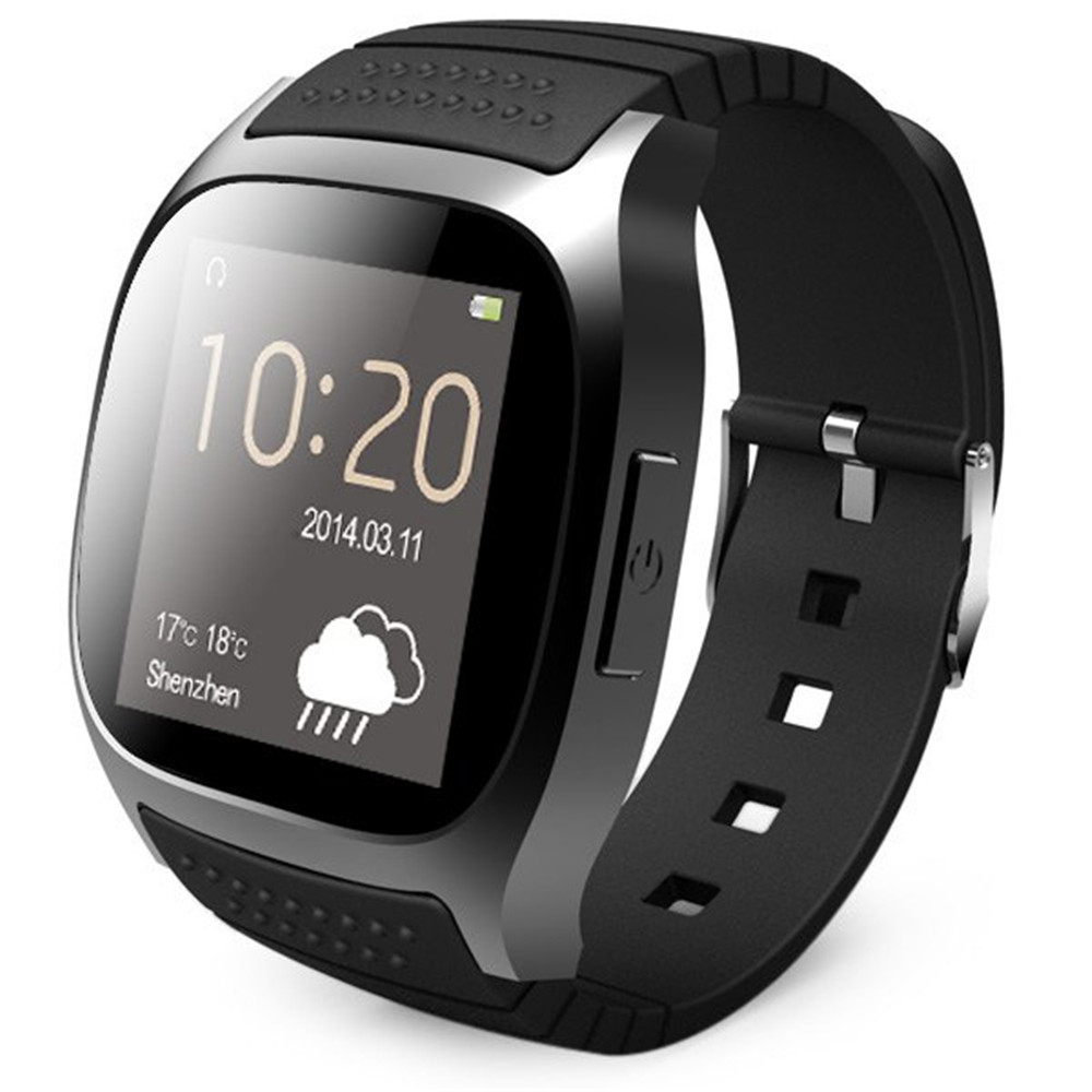 New Arrival Smartwatch Bluetooth 4 0 Smart Watch LED Light Display Smart Watch With Dial Call