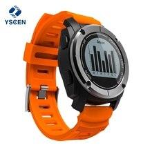YSCEN S928 GPS IP66 Vida À Prova D' Água de Esportes Ao Ar Livre Relógio Inteligente com Monitor de Freqüência Cardíaca Pressão para Android4.3 IOS 8.0 acima