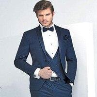 Настроить две пуговицы платье невесты жених держит Лучший мужской костюм на свадьбу (пальто + брюки + жилет + галстук)