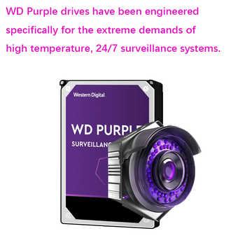 """WD 紫 1 テラバイト監視内蔵ハードディスクドライブ 3.5 \""""64 M キャッシュ SATA III 6 ギガバイト/秒 1T 1000 ギガバイトの HDD HD ハードディスク cctv DVR NVR"""