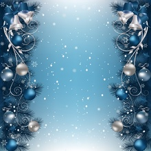 цены Laeacco Winter Snow Pine Christmas Bauble Bell Snowflake Poster Photographic Backgrounds Photo Backdrops Photocall Photo Studio