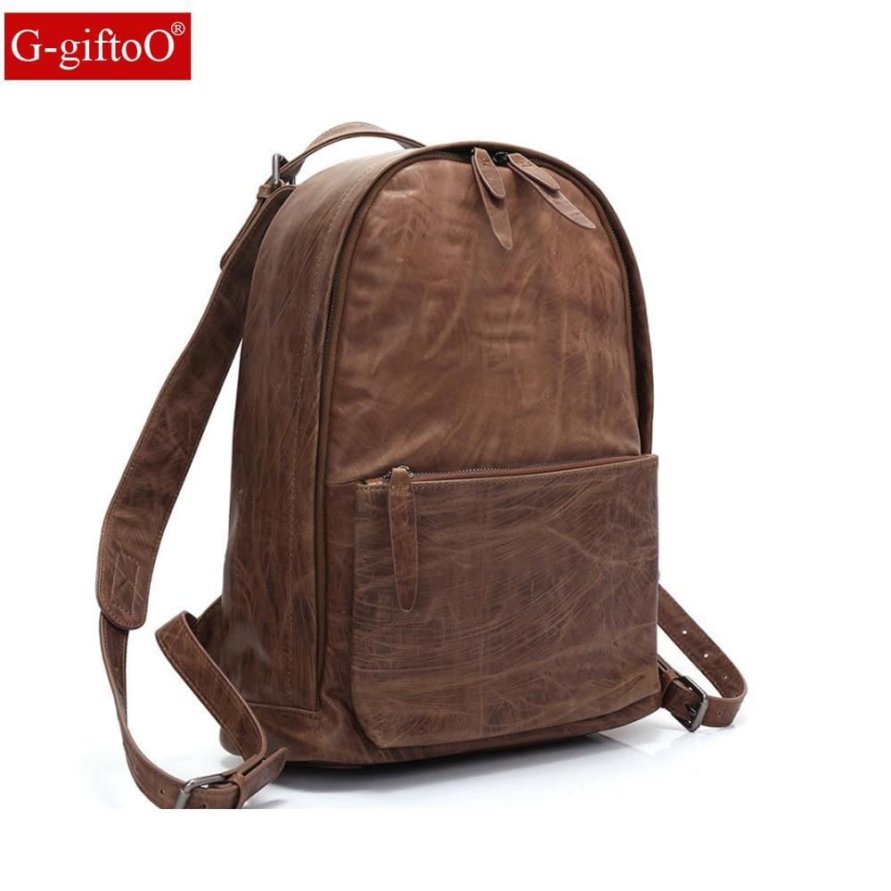 Genuine Leather Men Backpacks Shoulder Messenger Male Women Backpack Schoolbag Business Backpacks рюкзаки zipit рюкзак shell backpacks