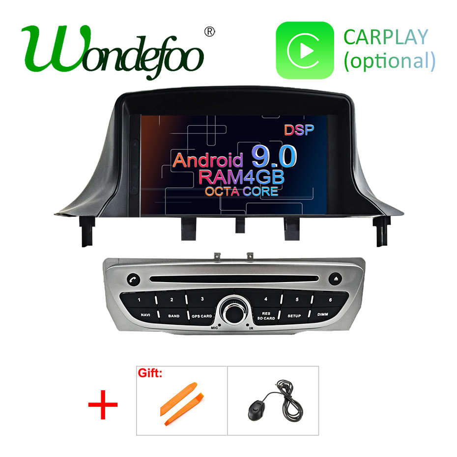 Android 9 0 DSP 4G RAM Car GPS Radio for Renault Megane 3 2009 2010 2011
