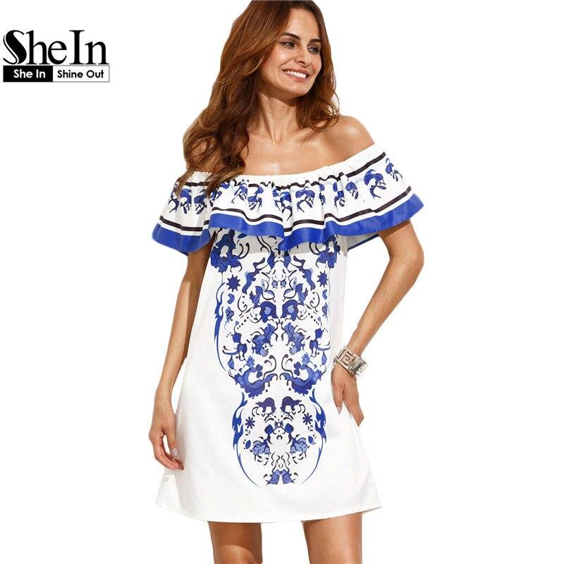 Shein vestidos de playa de verano para mujer nuevo estilo boho de las señoras mu