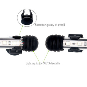 Image 4 - 99 ซม.ตกแต่ง Fish TANK ไฟ LED สำหรับพิพิธภัณฑ์สัตว์น้ำ LED Marine โคมไฟแสงพิพิธภัณฑ์สัตว์น้ำ LED โคมไฟ CONTROLLER