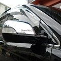 For Honda CRV CR-V 2007 2008 2009 2010 2011 ABS Chrome Car Mirror Cover Rearview Mirrors cover Trim only fit car with turn light