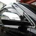 Para honda crv cr-v 2007 2008 2009 2010 2011 abs del coche del cromo Cubierta del espejo Espejos Retrovisores Ajuste de la cubierta sólo fit car con luz de la vuelta