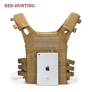 Image 5 - Men Huntung Vest Airsoft Sport Paintball Plate Carrier JPC Tactical Vest Military Army Combat Training Shooting Vest