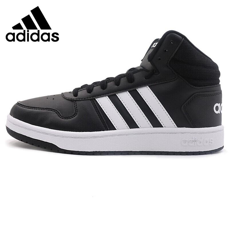 Original New Arrival Adidas Neo Label HOOPS 2.0 MID Men\'s Skateboarding Shoes Sneakers