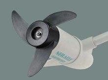 จัดส่งฟรี MARINE 40LBS ไฟฟ้า OUTBOARD มอเตอร์ TROLLING หัวอะไหล่ใบพัดมอเตอร์และใบพัดสีขาวสำหรับเกลือน้ำ