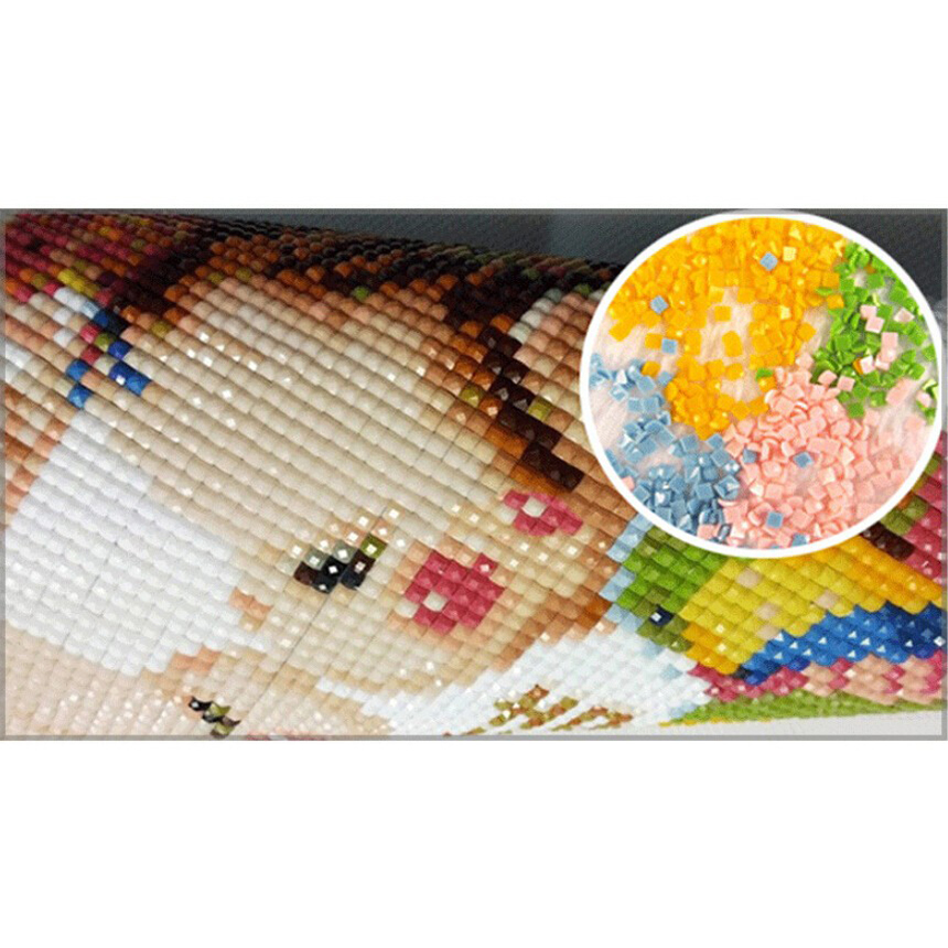 Sophie Beauty Home 5D DIY Diamond Animal Coyote 3D Mosaic Cross stitch Kit Wall Stickers Home Decor Pattern