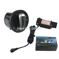 Aux Cable Adapter Switch OEM Chrome Switch Auto Headlight Sensor Head Light Switch