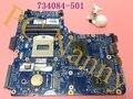 734084 - 001 734084 - 501 placa principal para hp probook 440 450 470 laptop motherboard 48.4YW03.011 AMD 8750 gráficos