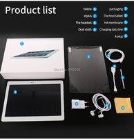11,11 10 дюймов Восьмиядерный 3g/4 г Tablet pc 4 ГБ Оперативная память 64 ГБ Встроенная память 1920*1200 две камеры Android 7,0 Планшеты 10,1 дюймов Бесплатная дос
