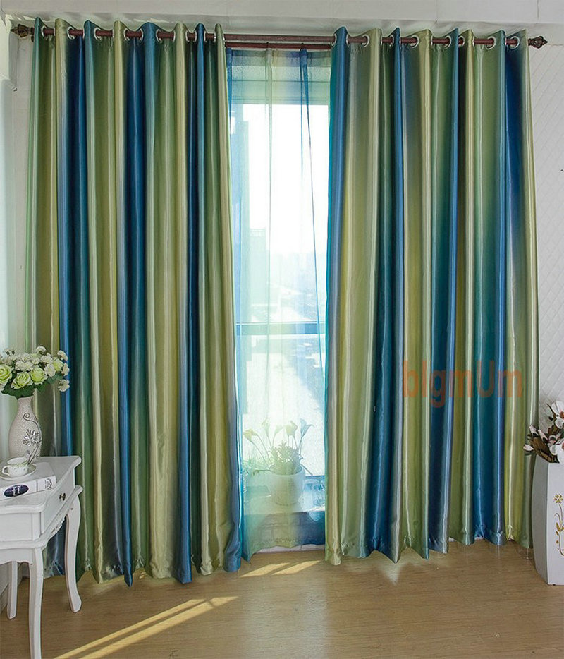 European Style Window Treatment Small Fresh Simple