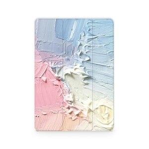 Image 2 - Магнитный чехол книжка для планшетов с Кремовым рисунком