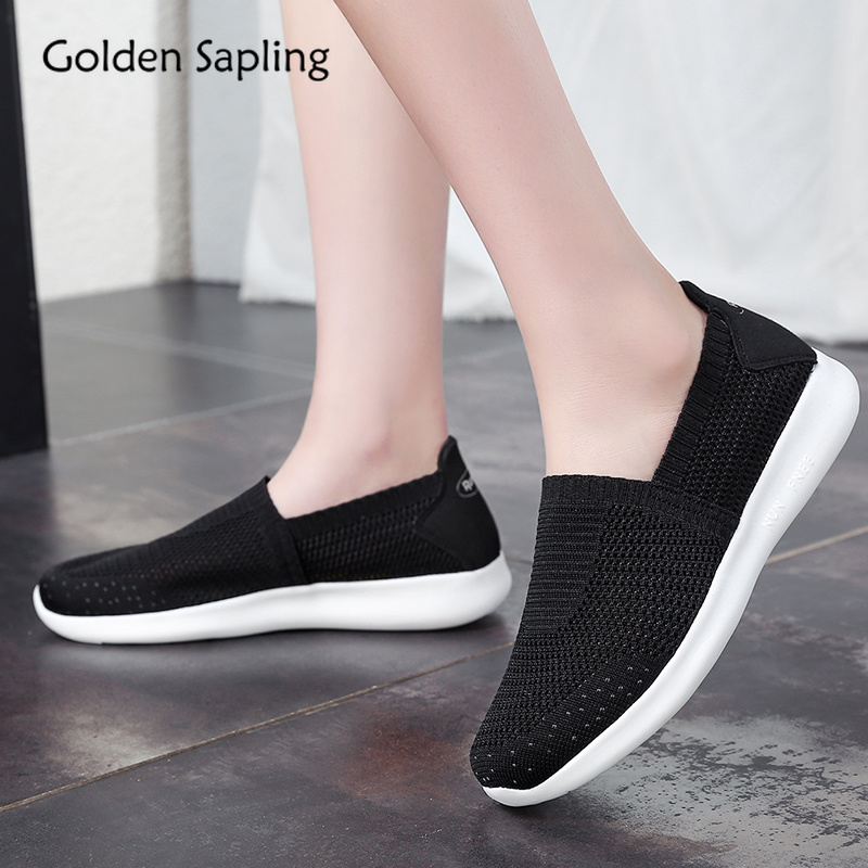 Golden Sapling Summer New Women Running Shoes Breathable Lightweight Air Mesh Women's Sneakers Fitness Trainers GYM Sport Shoes