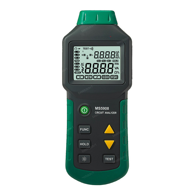 Hot Sale High Precision Accuracy Digital TRMS Voltage Tester Circuit Analyzer MS5908 AC Voltage Distribution Line Fault Meter g t power 130a 150a rc watt meter power analyzer digital lcd tester 12v 24v 36v high precision