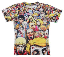New Summer Biochemical crisis zombie print 3d t shirt harajuku casual t shirt for men/women unisex tops tees Free shipping