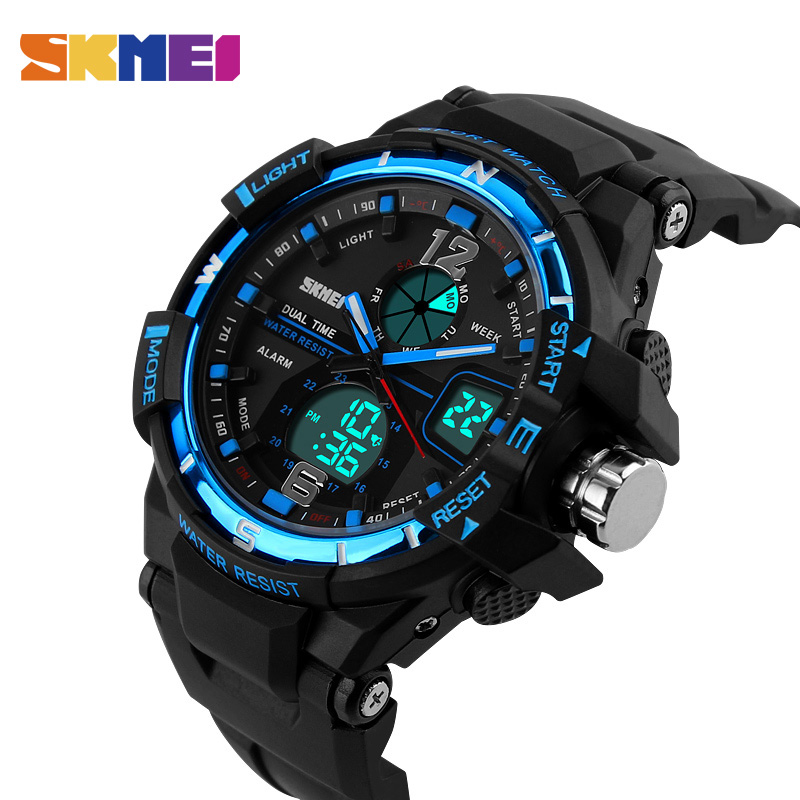 SKMEI Men Digital Watch Waterproof Chronograph Outdoor Sports Watches Top Brand Fashion Quartz Wristwatches Relogio Masculino