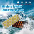 Outdoor Sports Water Resistant Shockproof Portable Wireless Bluetooth Speaker Hands-free Calls Mic For Iphone 6 All Smart Phone